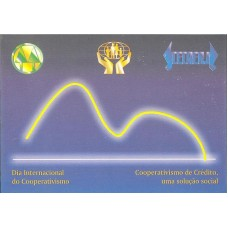 BP-189 - 1998 - DIA INTERNACIONAL DO COOPERATIVISMO - RHM R$ 35,00 (10 UFs)