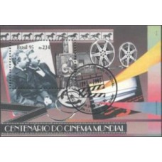 BL-099 - CBC - CENTENÁRIO DO CINEMA - CBC - RHM 2016 R$ 42,00 (12 UFs)