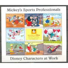 DISNEY - ST.VICENT - ESPORTES DO MICKEY - 2014 - BLOCO